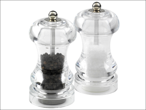 Cole & Mason Salt & Pepper Mill Capstan Pepper Mill Acylic 4.5in H14501P