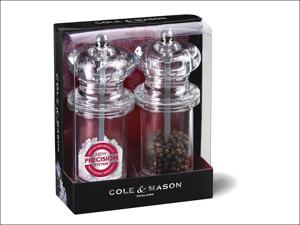 Cole & Mason Salt & Pepper Mill Set Salt & Pepper Grinder Gift Set H50518P