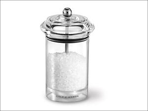 Cole & Mason Salt & Pepper Mill Solo Salt Mill Clear Precision H83002P