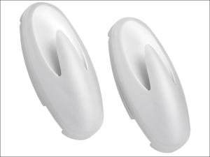 Croydex Cloth Holder B-smart Towel Click Twist White x 2 PA110222