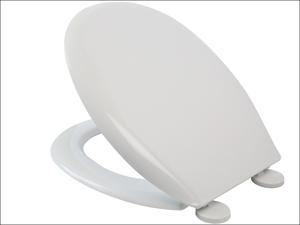 Croydex Toilet Seat Easy Fix Toilet Seat White WL401022H