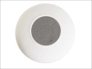 Croydex Portable Speakers Bathroom Bluetooth Speaker PA160122E