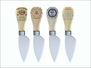 Creative Tops Cheese Knife Cheese Knives x 4 CHKN3607