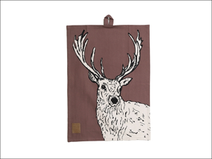 Creative Tops Tea Towel Into The Wild Tea Towel Stag 5211744