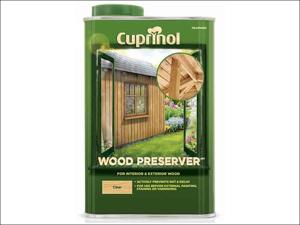 Cuprinol Wood Preserver Wood Preserver Clear 1L