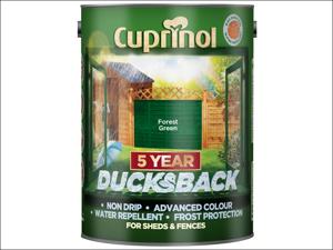 Cuprinol Wood Preserver 5 Year Ducksback Forest Green 5L