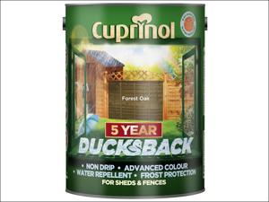 Cuprinol Wood Preserver 5 Year Ducksback Forest Oak 5L