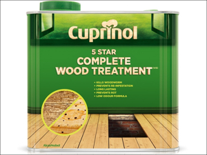 Cuprinol Wood Preserver 5 Star Wood Treatment (Wb) 1L