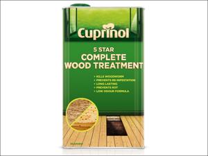 Cuprinol Wood Preserver 5 Star Wood Treatment (Wb) 2.5L