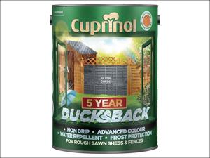Cuprinol Wood Preserver 5 Year Ducksback Silver Copse 5L
