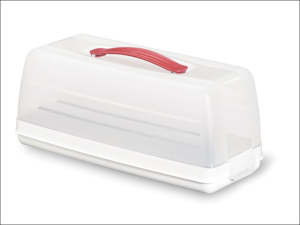 Curver Cake Storage Chef At Home Cake Store Rectangular Clear 175247