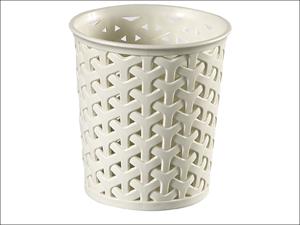 Curver Storage Basket My Style Round Organiser Small White 220369