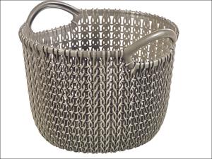 Curver Storage Basket Knitted Basket Round Harvest Brown  3L 229298