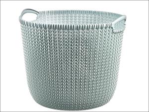 Curver Storage Basket Knitted Basket Round Misty Blue 30L 226389