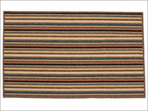 Dandy Door Mat Ios Striped Mat Brown 100 x 67 cm