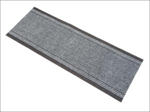 Dandy Kitchen Mat Runner Rug Black 183cm x 66cm