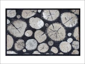 Dandy Scraper Mat Outback Scraper Mat Log Pile 75cm x 50cm 2335
