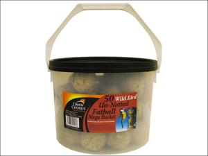 Dawn Chorus Bird Feed Fatballs Original Tub x 50 10530