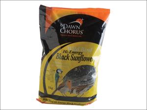 Dawn Chorus Bird Feed Black Sunflower Seeds 1kg