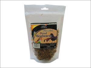 Dawn Chorus Bird Feed Dried Mealworms Pouch 100g