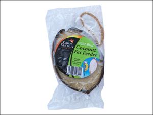 Dawn Chorus Bird Feed Fat Filled Coconut Half 10355