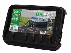 Dribox Socket Box Dribox Black Medium DB-285-UK-B