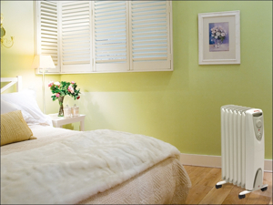 Dimplex Oil Radiator Heater Eco Oil Free Radiator 1.5kW 023803