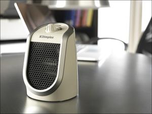 Dimplex Fan Heater Personal Ceramic Fan Heater USB Charger DDF250