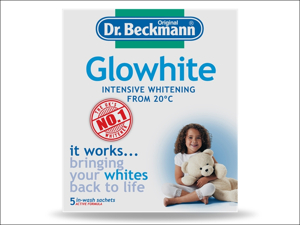 Dr Beckmann Laundry Whitener Glowhite Sachets x 5 4522