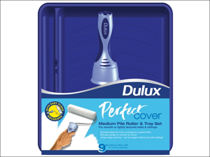 Dulux Paint Roller & Tray Perfect Cover Roller Tray Set 9in