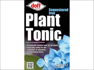 Doff Sequestrene Fertiliser Sequestered Iron Plant Tonic x 5 Sachets