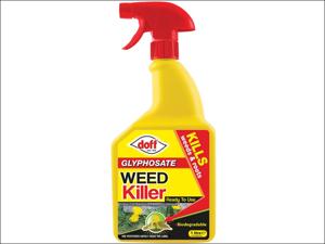 Doff Multi Purpose Weed Killer Knockdown Weedkiller Spray Ready to Use 1L