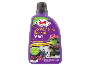 Doff Fertiliser Basket/ Container Container & Basket Feed 1L Concentrated