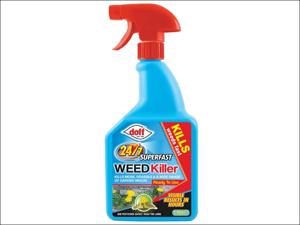 Doff Multi Purpose Weed Killer Fast Acting Weedkiller 3hour 1L