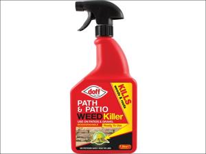 Doff Path/ Patio Weed Killer Path & Patio Weedkiller 1L
