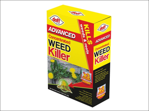 Doff Multi Purpose Weed Killer Super Advanced Concentrated Weedkiller 3 x sachets