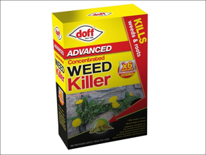 Doff Multi Purpose Weed Killer Super Advanced Concentrated Weedkiller 6 x sachets