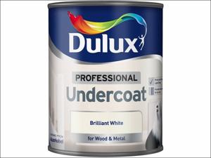 Dulux Undercoat Paint Professional Undercoat Pure Brilliant White 750ml