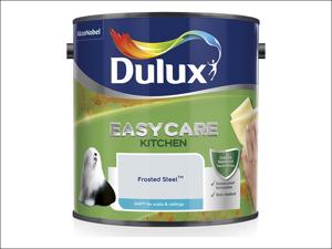 Dulux Kitchen Emulsion Paint Easycare Kitchen Matt Frosted Steel 2.5L