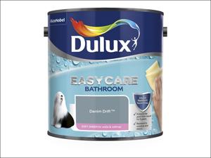 Dulux Bathroom Emulsion Paint Easycare Bathroom Denim Drift 2.5L