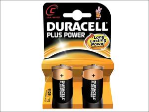 Duracell Standard Batteries Plus Batteries C x 2 MN1400B2