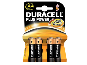 Duracell Standard Batteries Plus Batteries AA x 4 MN1500B4