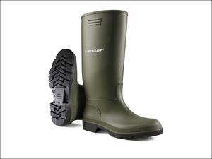 Dunlop Wellington Boots Pricemaster Wellington Boots Green Size 4 380VP