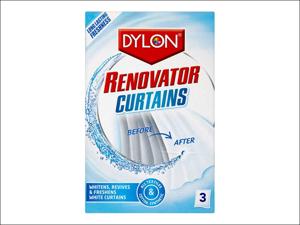 Dylon Fabric Care Renovator Curtain Whitener 3 Sachet