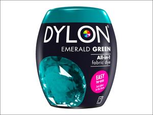 Dylon Machine Dye 04 Machine Dye Pod 350g Emerald Green
