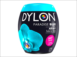 Dylon Machine Dye 21 Machine Dye Pod 350g Paradise Blue