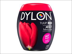 Dylon Machine Dye 36 Machine Dye Pod 350g Tulip Red