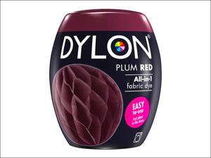 Dylon Machine Dye 51 Machine Dye Pod 350g Plum Red