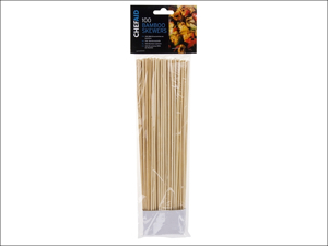 Chef Aid Skewer Bamboo Skewers 10in x 100 10E01476