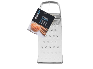 Chef Aid Food Grater Grater Four Sided 8in 10E01367